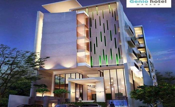 Genio Hotel Manado Manado - Tampilan Luar Hotel