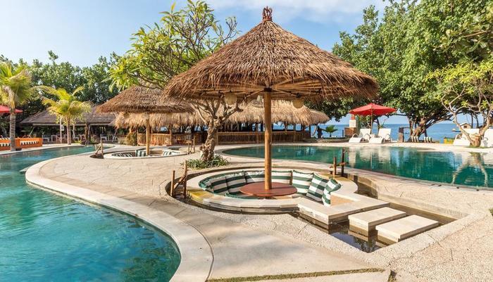 Taman Sari Bali Resort Bali - Kolam Renang Utama