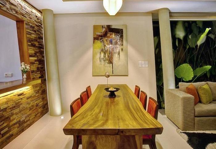 The Kasih Villas & Spa Bali - Ruang makan