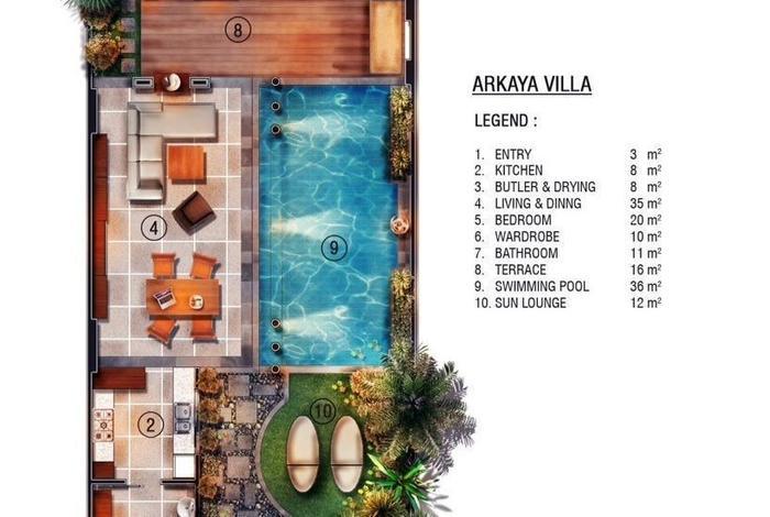 The Kasih Villas & Spa Bali - Arkaya