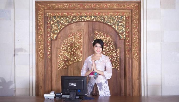Puri Dalem Hotel Bali - Resepsionis