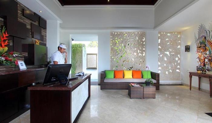 RC Villas Bali - Resepsionis