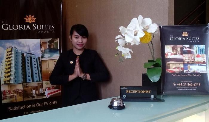 The Gloria Suites Jakarta - Reseptionis