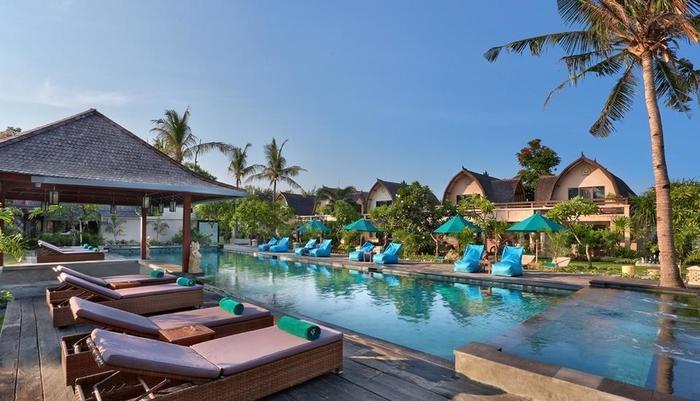 Hotel Villa Ombak Lombok - Kolam Renang