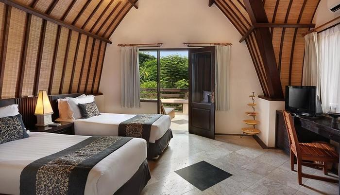 Hotel Villa Ombak Lombok - Kamar Superior Lumbung Teras