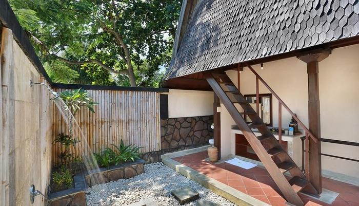 Hotel Villa Ombak Lombok - Tradisional Lumbung Hut