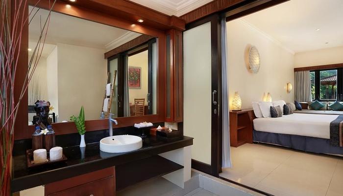 Hotel Villa Ombak Lombok - Kamar Deluxe Ombak