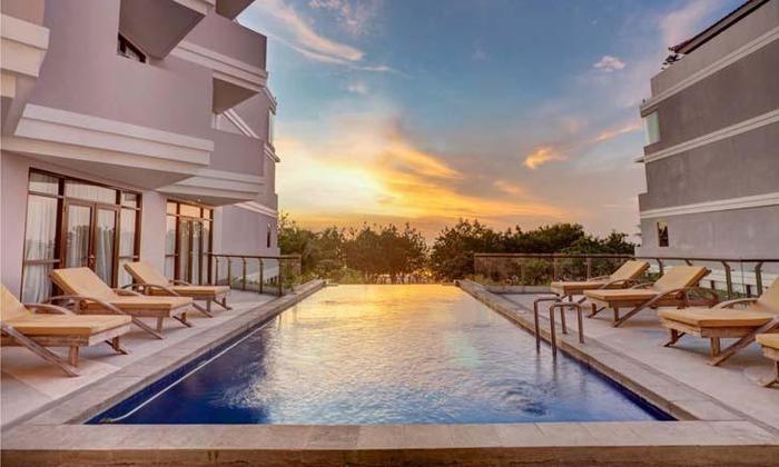 kuta playa hotel Bali - Pemandangan laut