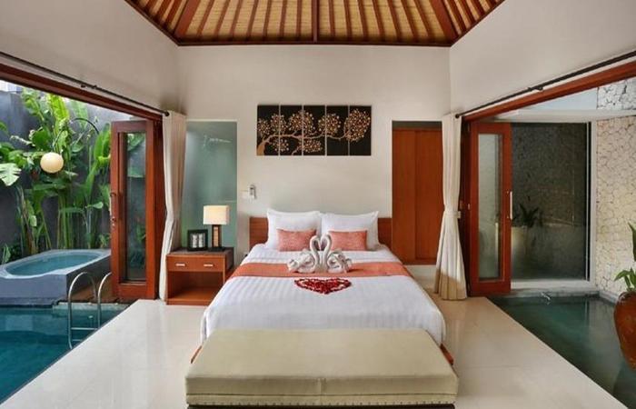 Legian Kriyamaha Villa Bali - Kamar tamu