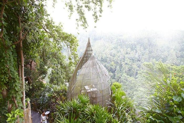Kupu Kupu Barong Villas Bali - Restoran