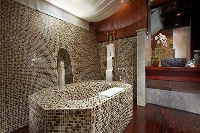 Kupu Kupu Barong Villas Bali - Kamar mandi