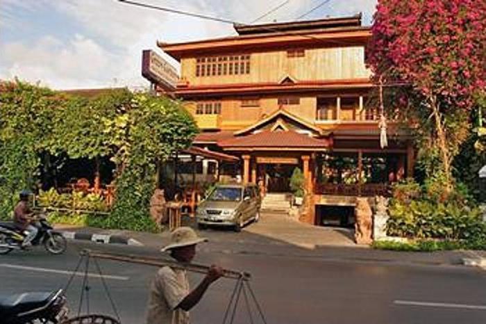 Green Garden Hotel Bali - Hotel Front