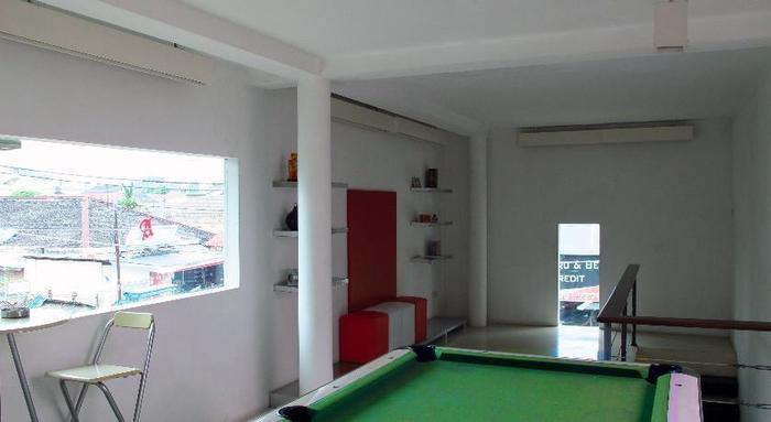 FLAT06 minimalist residence Jakarta - Biliar