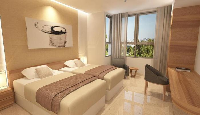 Wing Hotel Kualanamu Medan - Kamar Superior Twin