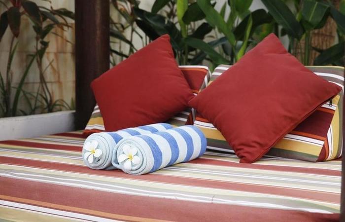 Samana Villas Bali - tempat tidur