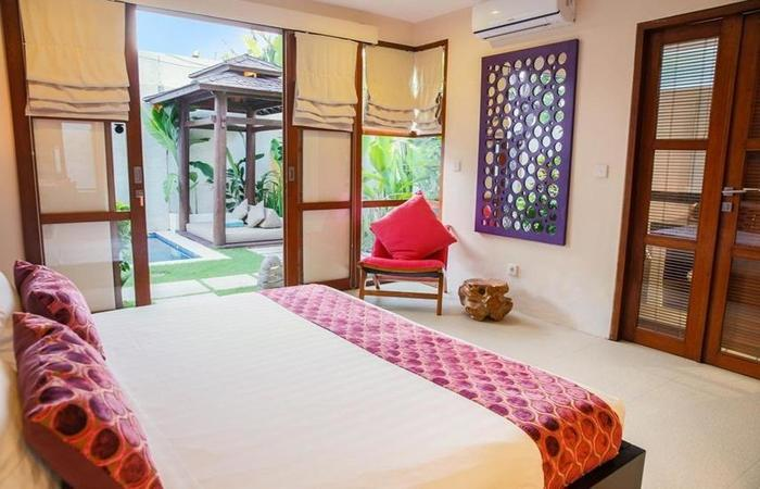 Samana Villas Bali - Kamar tidur