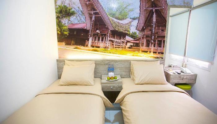 De Green Inn @aeropolis Tangerang - room twin