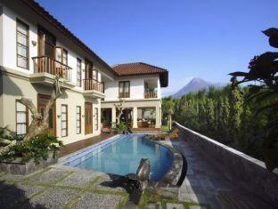 The Cangkringan Jogja Villas & Spa Yogyakarta - Tampak luar