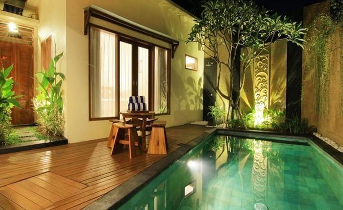 Ardha Chandra Villa Bali Bali - Kolam Renang