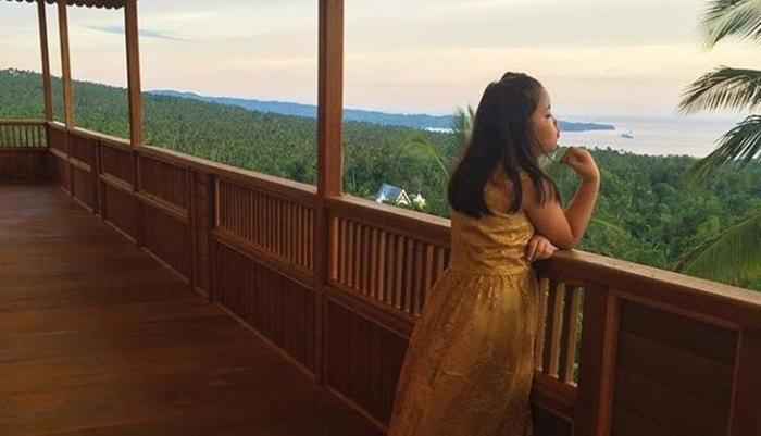 Botanica Nature Resort Bitung - Pemandangan dari Ruang Serba Guna le selat Lembeh