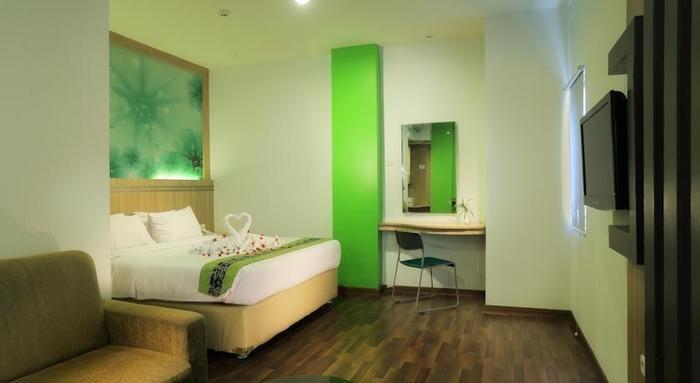 Transera Hotel Pontianak - Kamar tamu