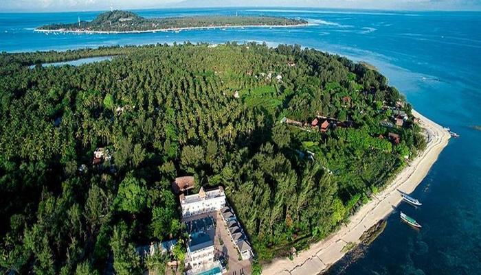 Seri Resort Gili Meno Lombok - Pemandangan