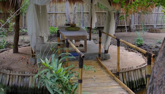 Seri Resort Gili Meno Lombok - Ruang pijat
