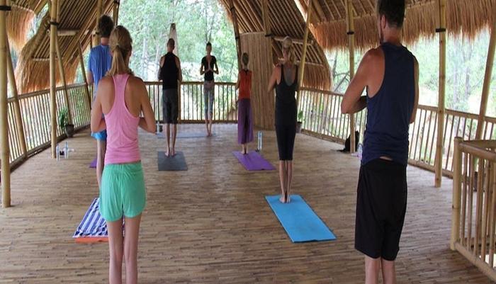 Seri Resort Gili Meno Lombok - Ruang yoga