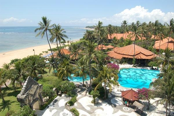 Inna Grand Bali Beach Bali - Bird eye view