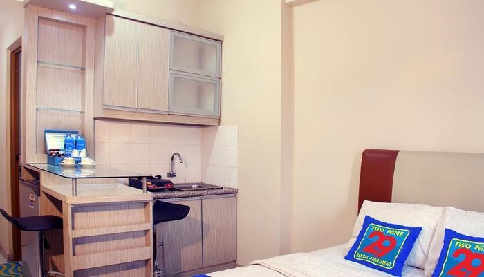 Two Nine Apartment Bekasi - Tersedia Kamar Studio untuk 2 orang dengan ukuran tempat tidur double