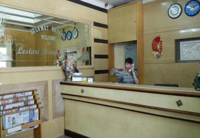 Hotel Lestari Permai Makassar - Lobi