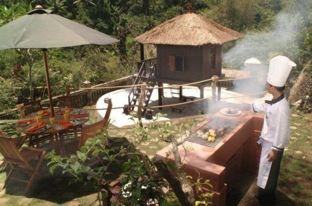 Anahata Villas & Spa Resort Bali - Area Barbeque