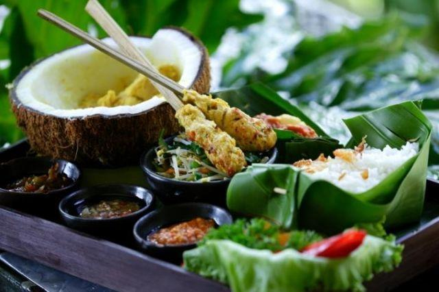 Anahata Villas & Spa Resort Bali - Menu