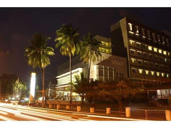 Grand Inna Daira Palembang - Bangunan tampak depan