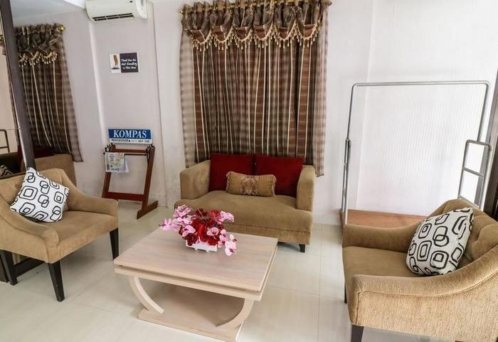 NIDA Rooms Makassar Sulawesi Wajo - Ruang tamu