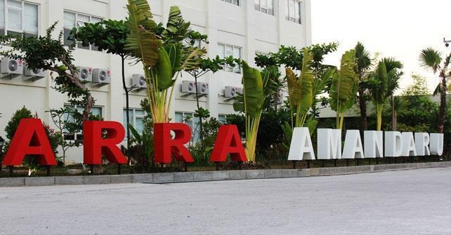 Arra Amandaru Cepu - Tampilan Luar Hotel