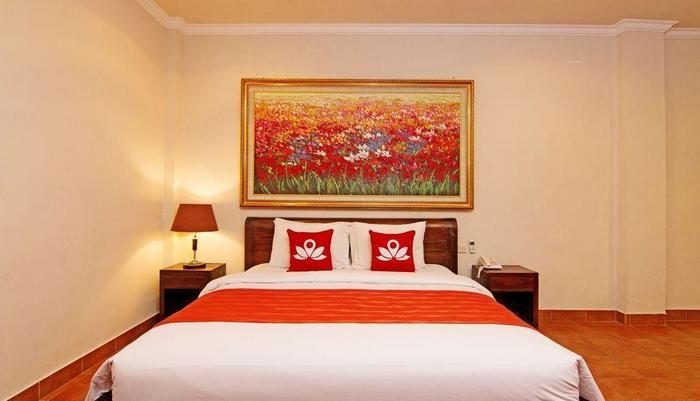 ZEN Premium Monkey Forest Ubud @Pundi Pundi - Tampak tempat tidur double