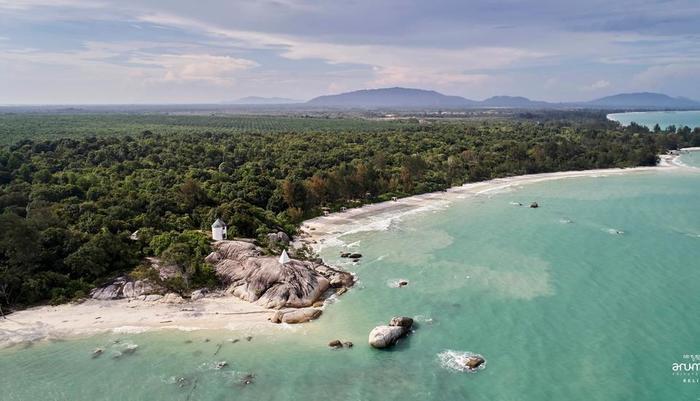 Arumdalu Private Resort Belitung - View