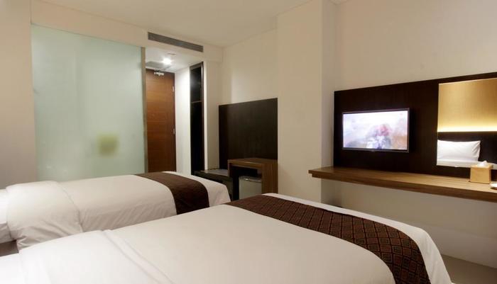 Ardan Hotel Bandung - Deluxe tempat tidur twin