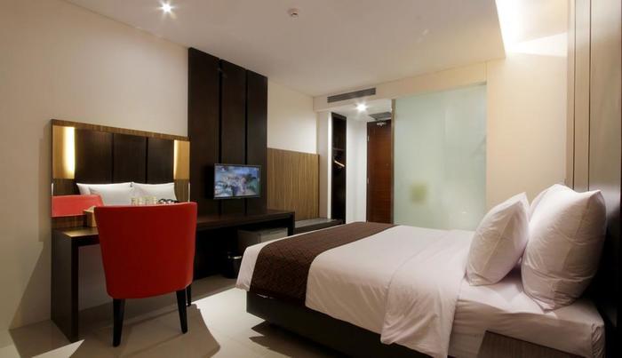 Ardan Hotel Bandung - Deluxe tempat tidur double