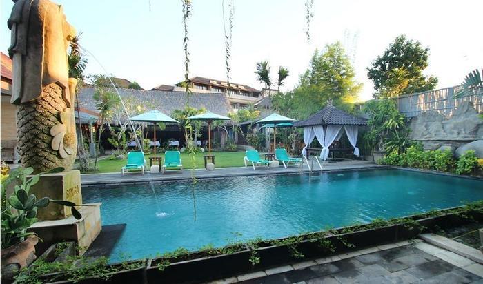 Jimbaran Lestari Hotel   - Kolam Renang Utama