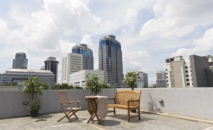 RedDoorz Taman Kebon Sirih Jakarta - Atap