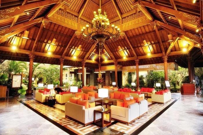 Sanur Paradise Plaza Hotel Bali - Lobi
