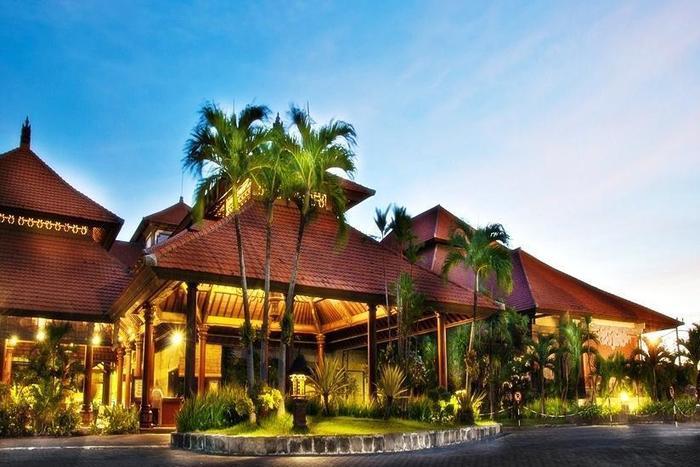 Sanur Paradise Plaza Hotel Bali - Tampilan Luar Hotel