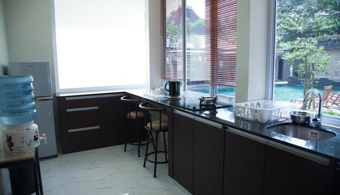 Alinson Boutique Resident Batam - Kitchen set