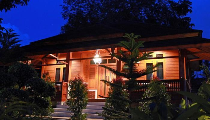 Green Tropical Village Hotel & Resort Belitung - Exterior Family