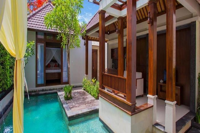 Astagina Resort Villa and Spa Bali - Kolam Renang