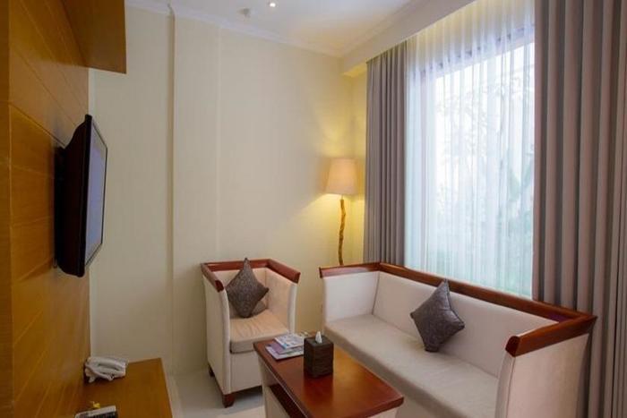 Astagina Resort Villa and Spa Bali - Ruang tamu
