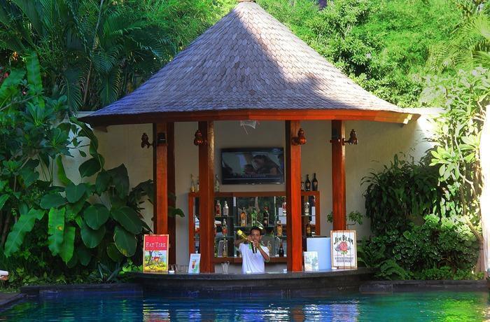 Astagina Resort Villa and Spa Bali - Pool Bar