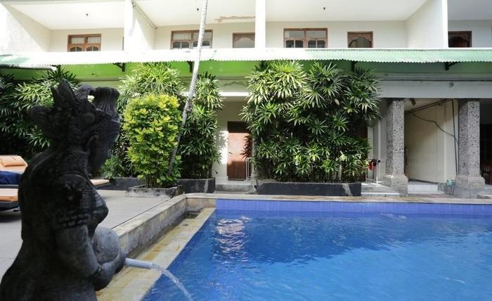 RedDoorz @Werkudara Legian Bali - Kolam Renang